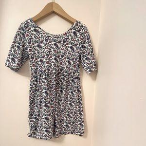 Old Navy 1/3 sleeve girls paisley dress. Size:M